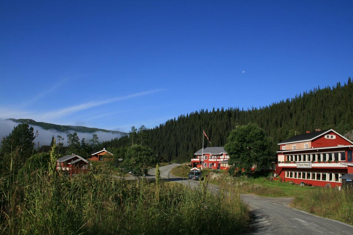 Berghotel Grönolen Fjellgard in Beitostölen, Norwegen