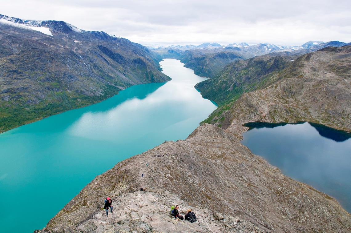 Besseggen-Grat Norwegen Jotunheimen