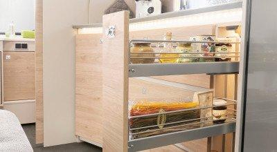 Apothekerschrank Küchenbereich Caravan Nomad 520 ELT