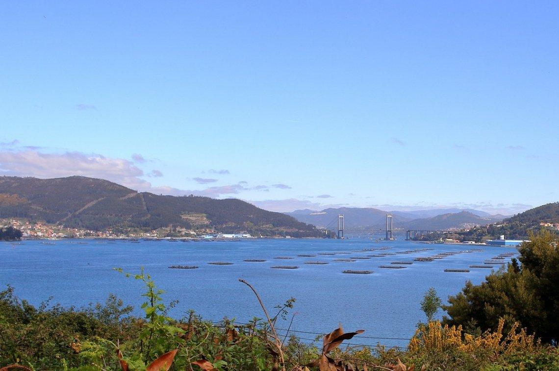 Ria De Vigo in Galizien, Spanien