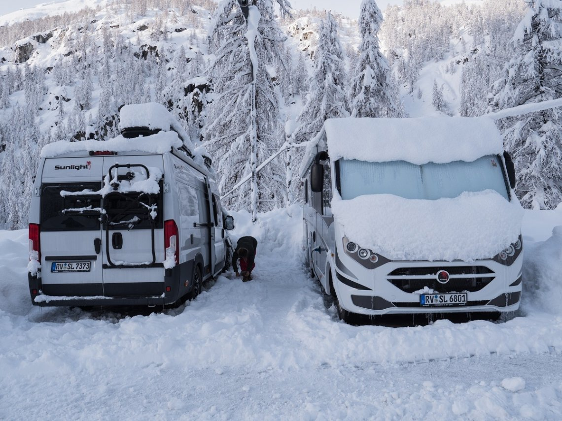 Which motorhomes are suitable for winter camping? - FREEONTOUR