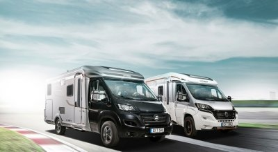 go to the semi-integrated motorhomes by Hymer