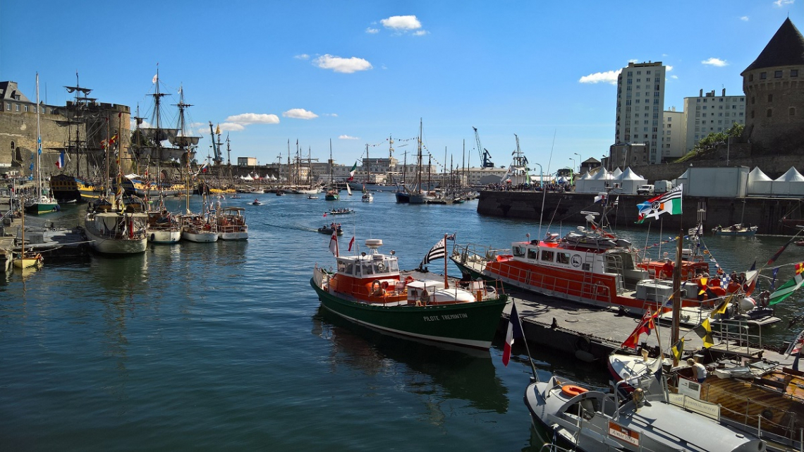 Port of Brest, Brittany