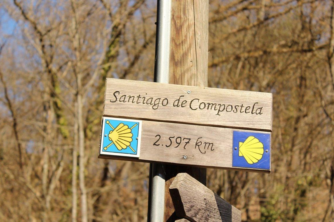 Santiago de Compostela on the Way of St James