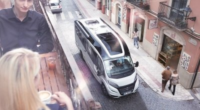 Go to the semi-integrated motorhome by Niesmann+Bischoff