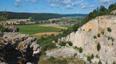 Wanderung im Altmühltal - Von Beilngries auf den Arzberg