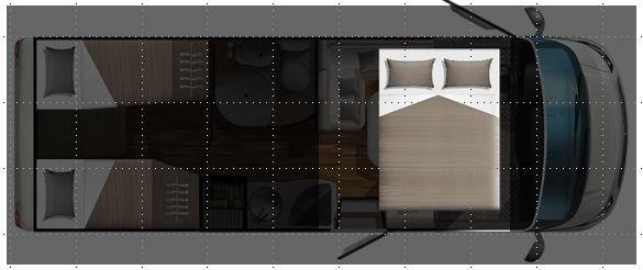 Grundriss Hubbett Wohnmobil