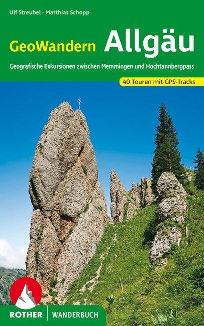 Buchcover Rother Wanderbuch GeoWandern Allgäu