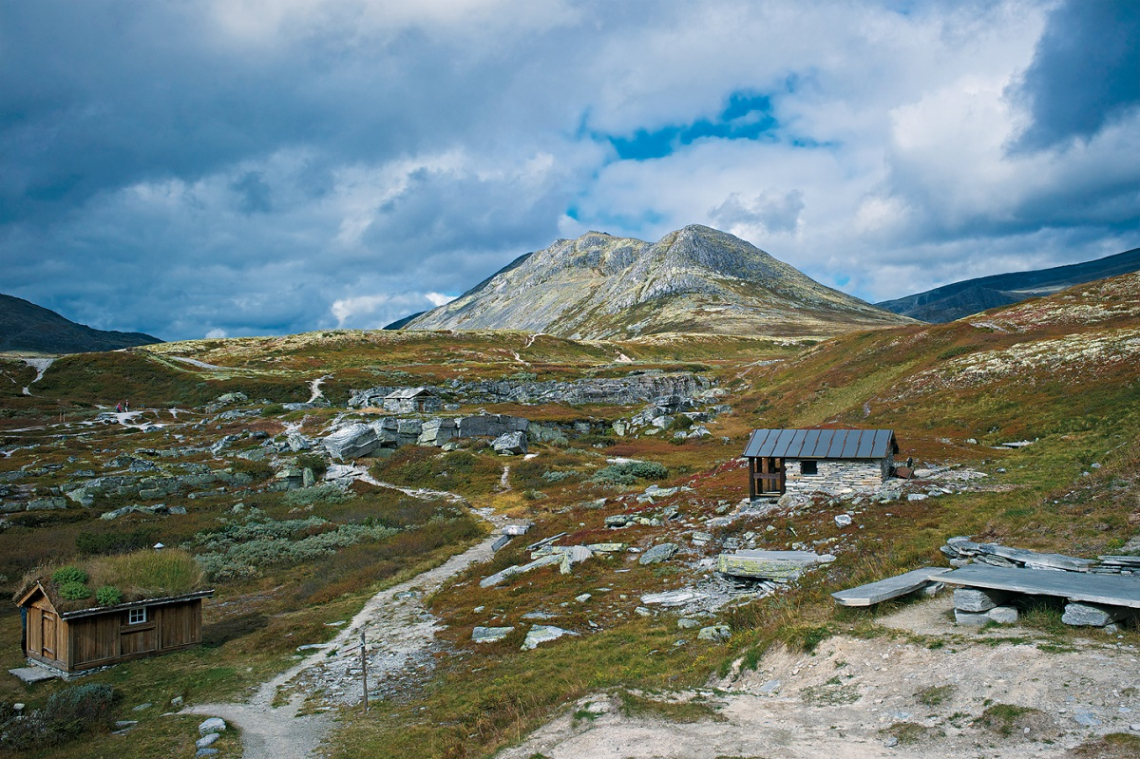 Norwegen Rondane Uloeyhytta
