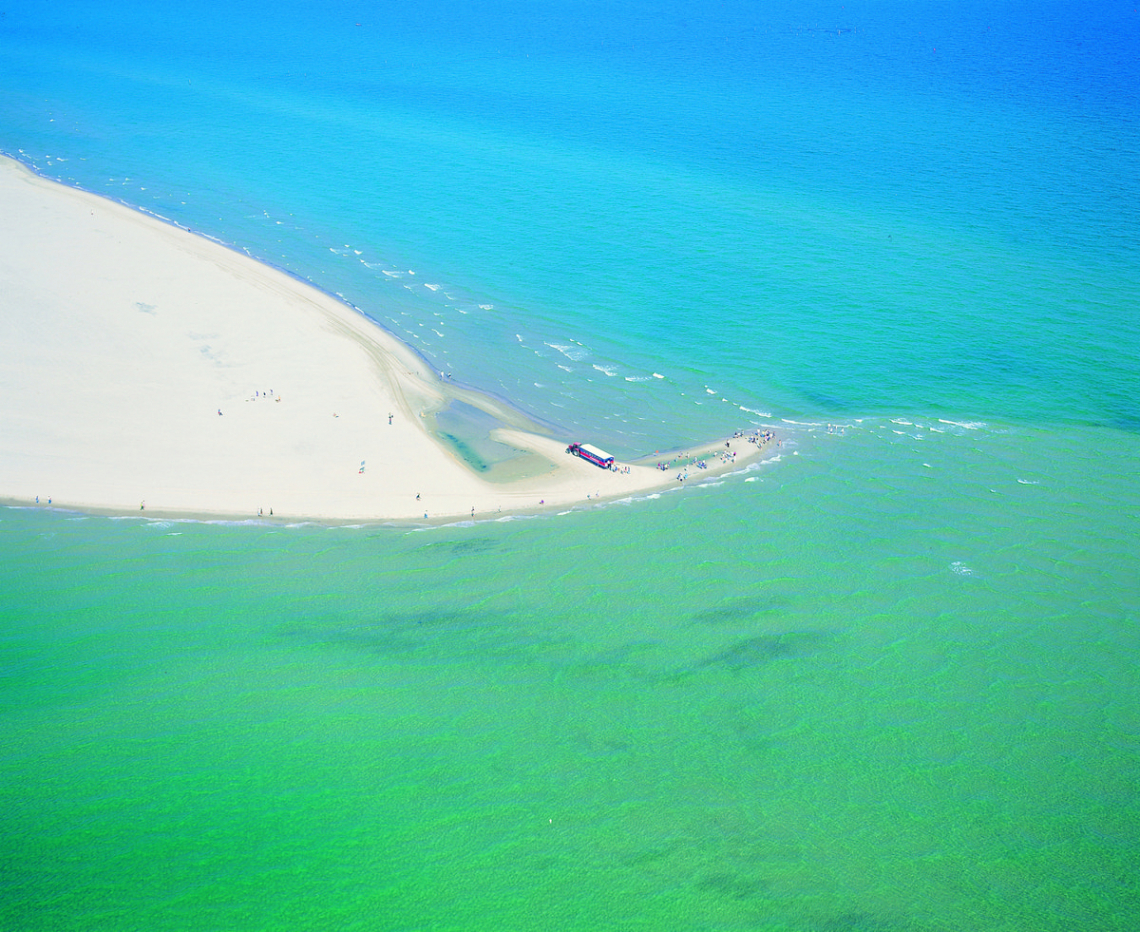 Skagens Gren seen from above