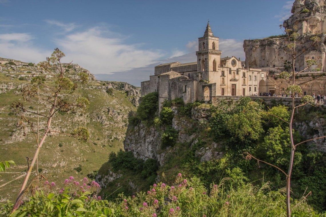 rotskerk van San Pietro Caveoso