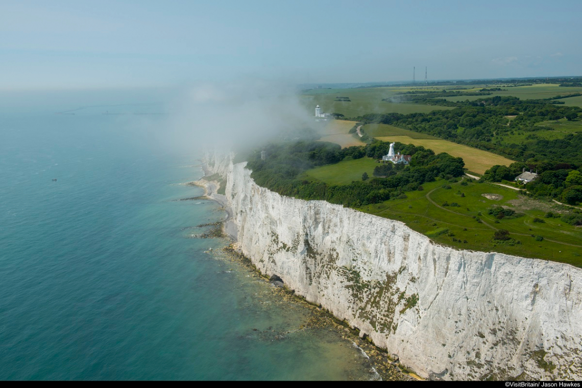England Kent White Cliffs