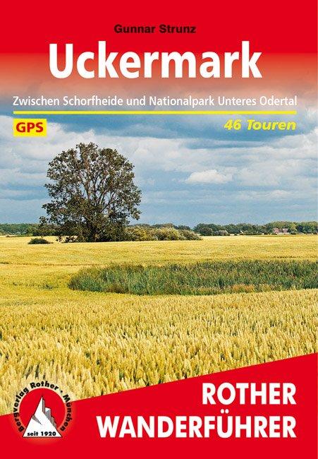 Buchcover Rother Wanderführer Uckermark