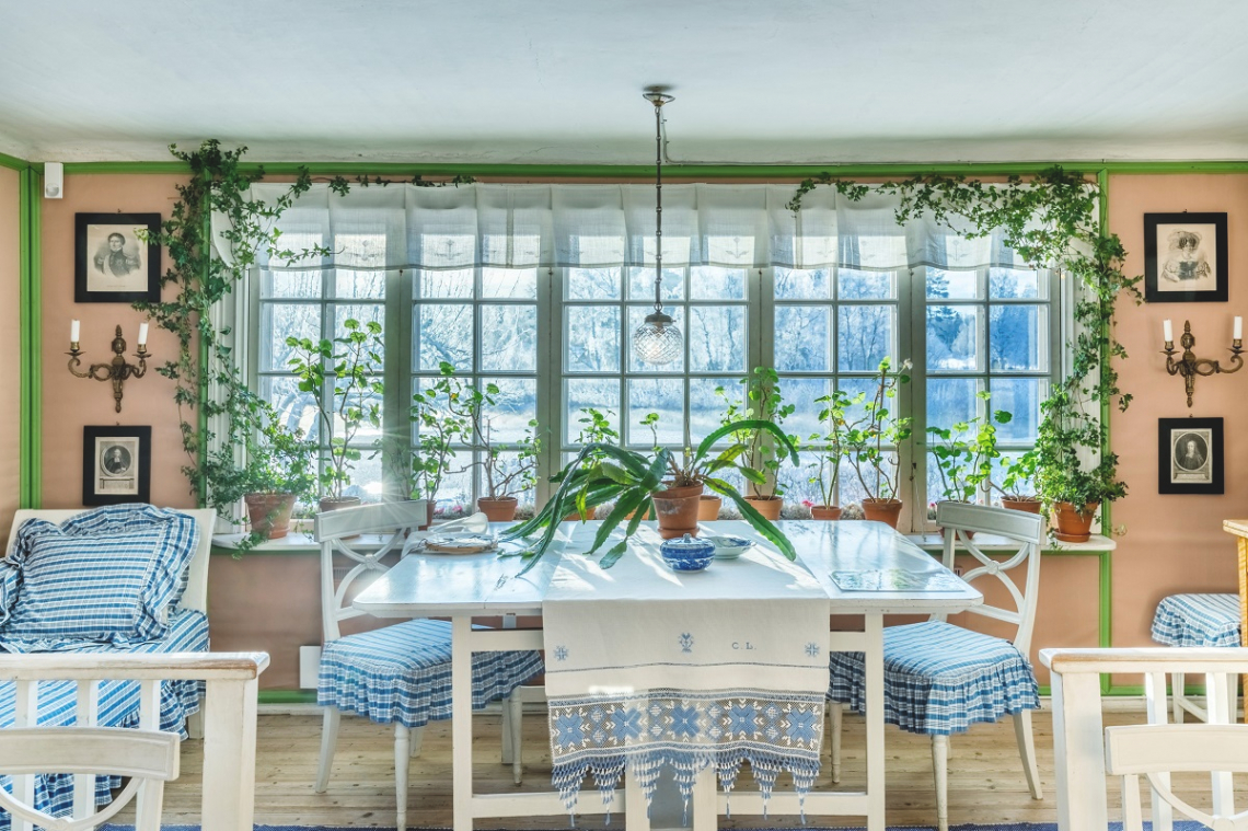 Küche Carl Larsson Hof Sundborn, Schweden