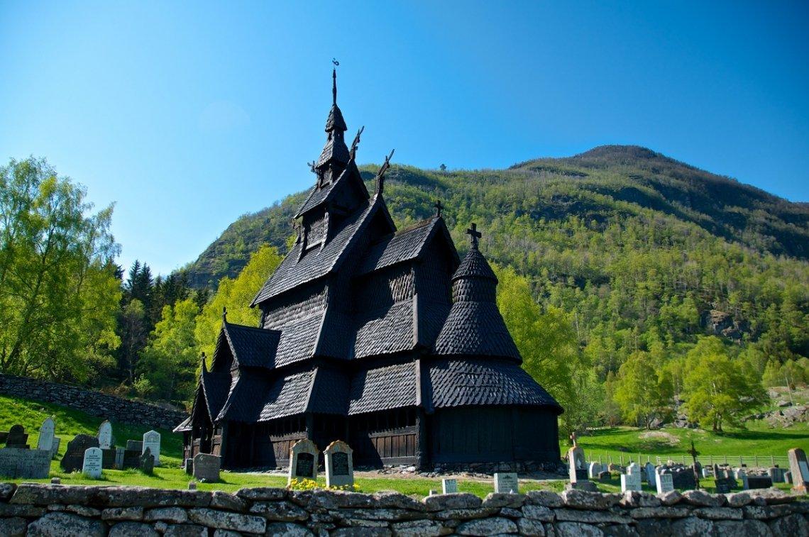 Borgond stave church, Norway