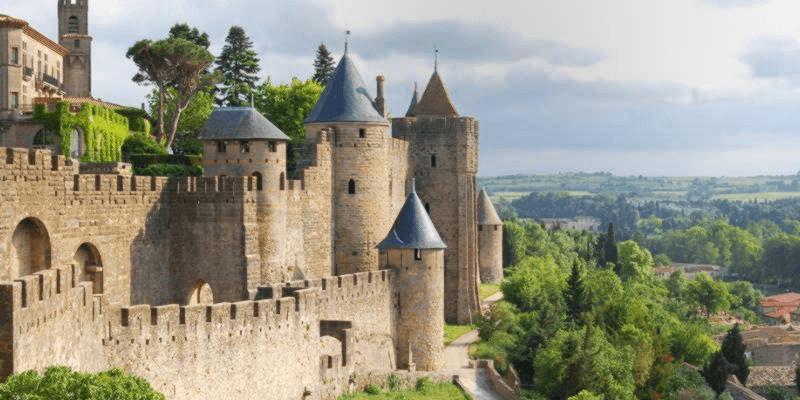 Het historische Carcassonne