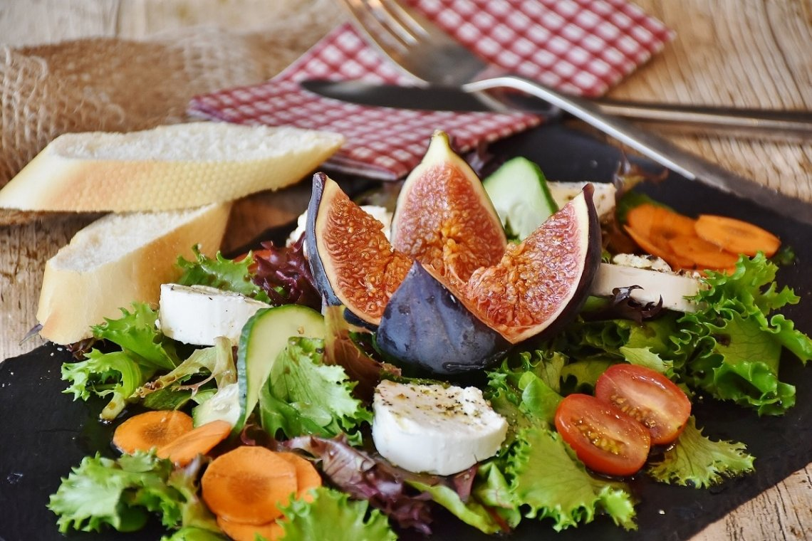 Goats cheese is among the culinary highlights at the Loire