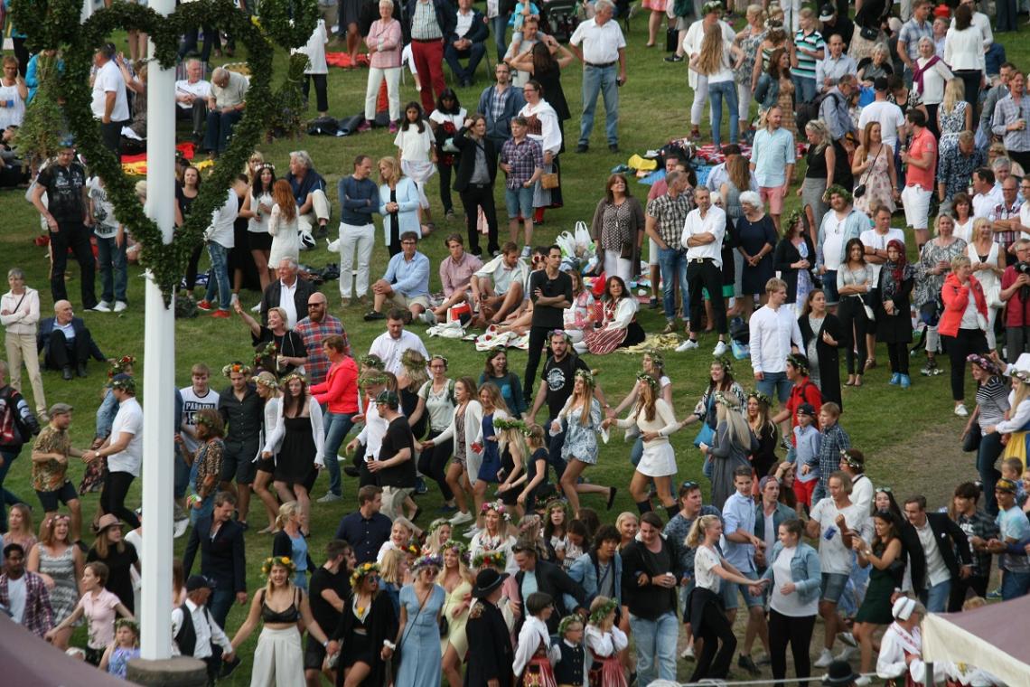 Mittsommerfest Schweden Leksand