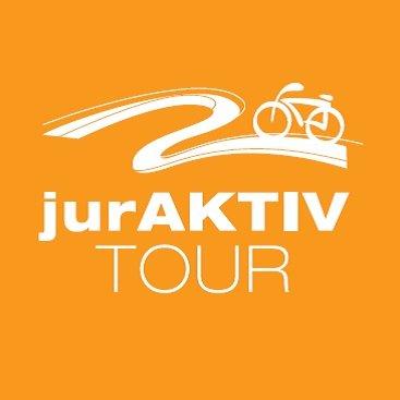Beschilderung Fahrradtour jurAktiv