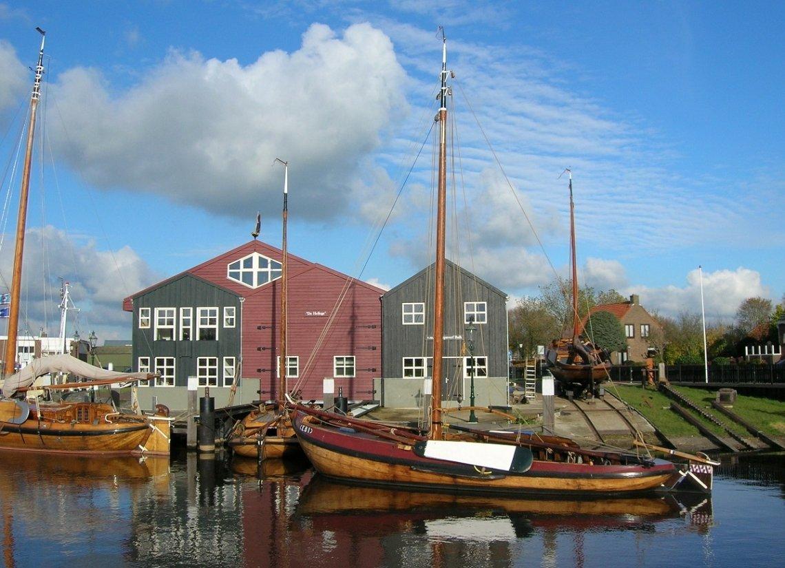 Botter sailboat Elburg