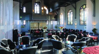 Het interieur van Restaurant De Kleine Toren