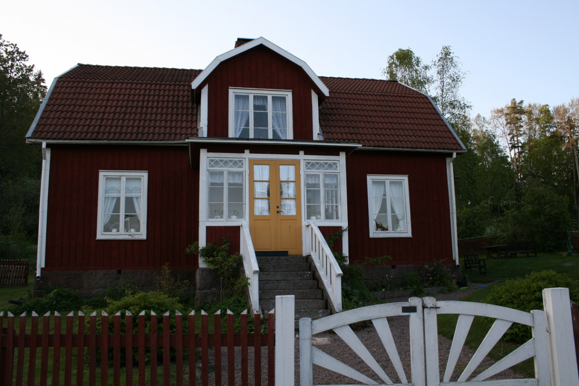 Hof Katthult, Gibberyd, Schweden