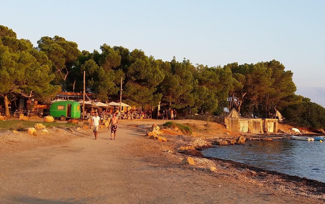 Campingplatz La Playa auf Ibiza