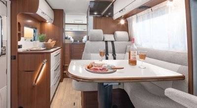Got to the semi-integrated motorhomes by LMC