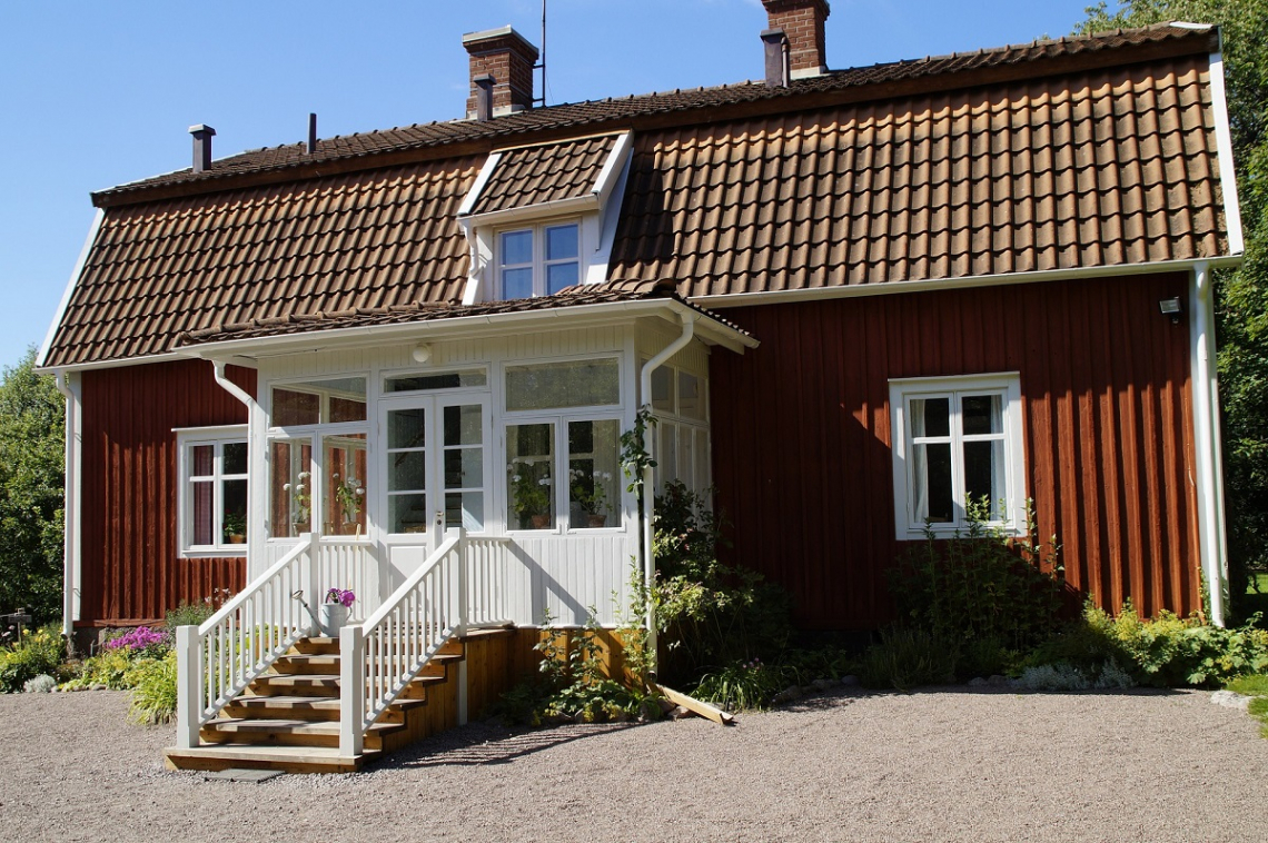 Vimmerby, Näs, childhood home of Astrid Lindgren