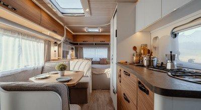 Wohnbereich Caravan Eriba Nova 565
