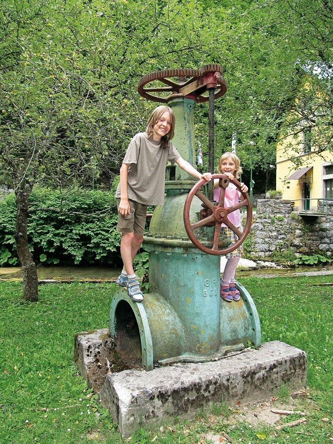 Wasserkraftwerk Munjara in Kroatien