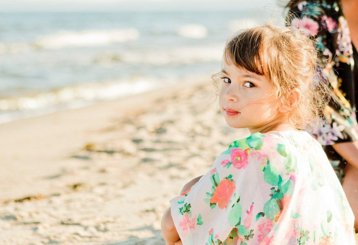 Familienurlaub am Sandstrand in Schweden