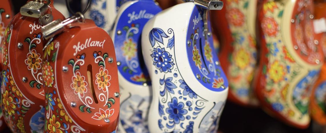 Holland Miniaturclogs als Souvenir