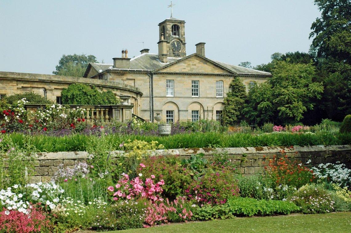Howick Hall and Gardens, England