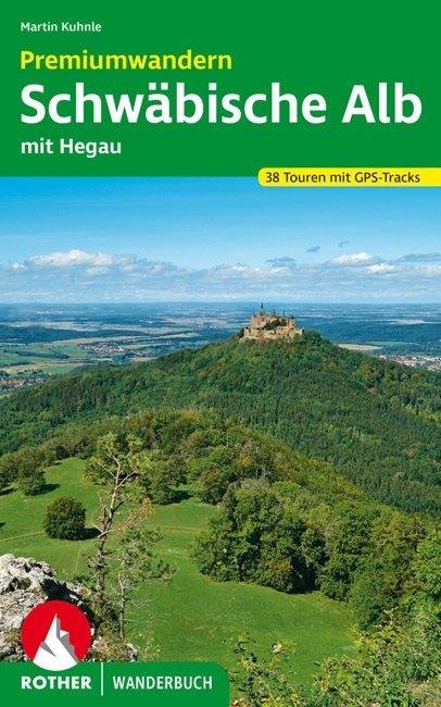 Buchcover des Wanderführers Premiumwandern Schwäbische Alb