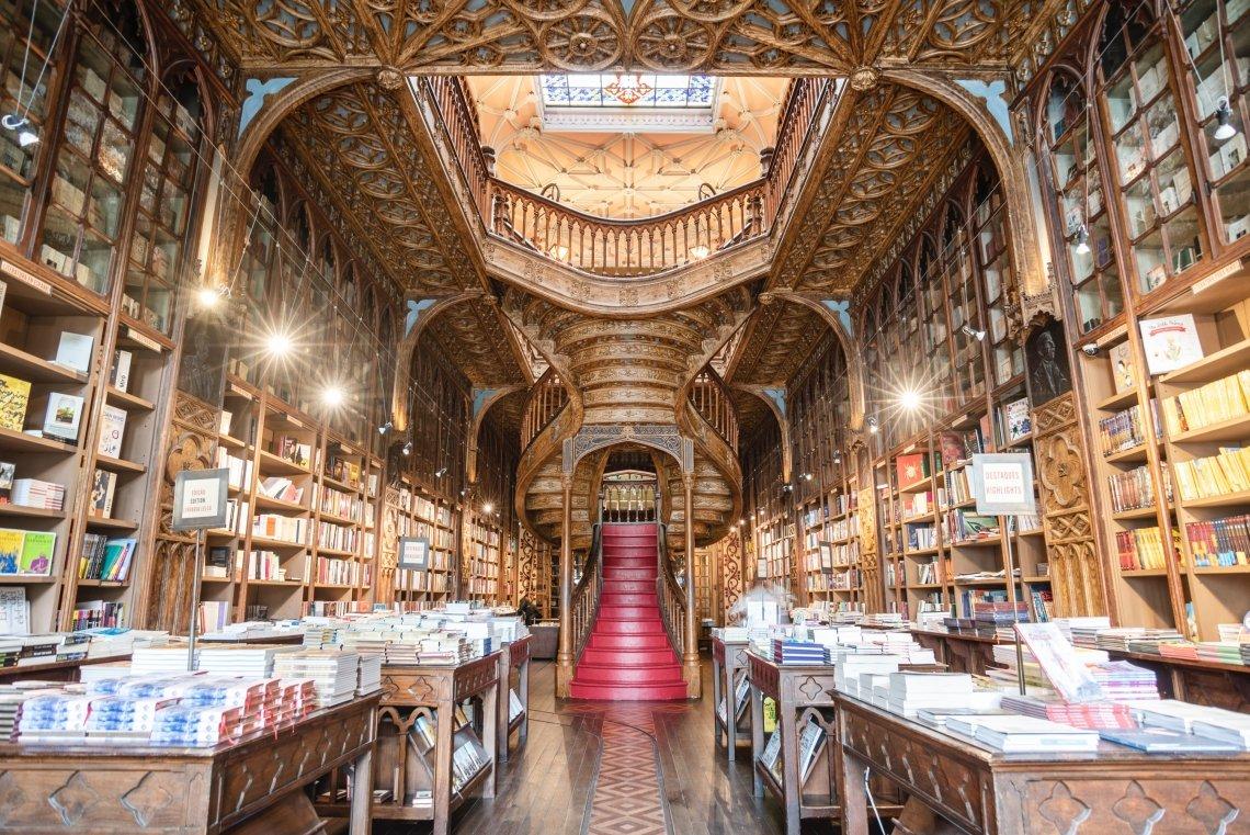 The Lello & Irmão book store in Porto