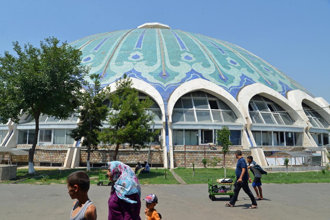 Chorsu Markthalle Taschkent, Usbekistan