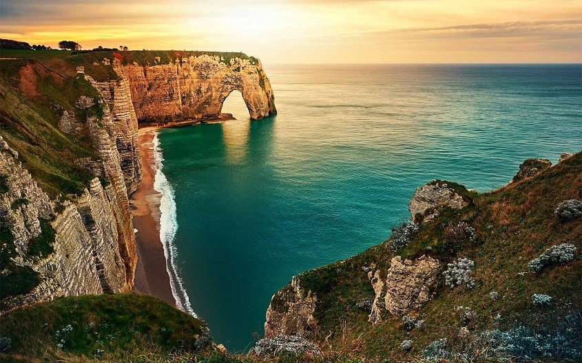 coast of Normandy