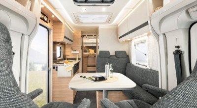 Innendesign Dethleffs Reisemobil Globebus Modelljahr 2022