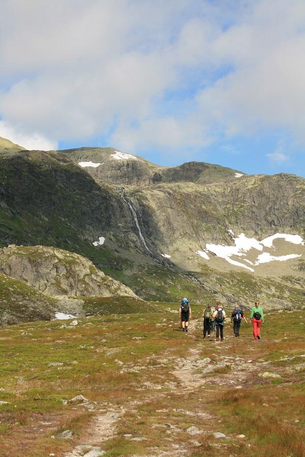 Wanderung Mugnetind Norwegen Valdres