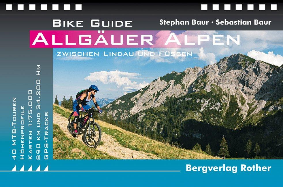 Buchcover Rother Bike Guide Allgäuer Alpen