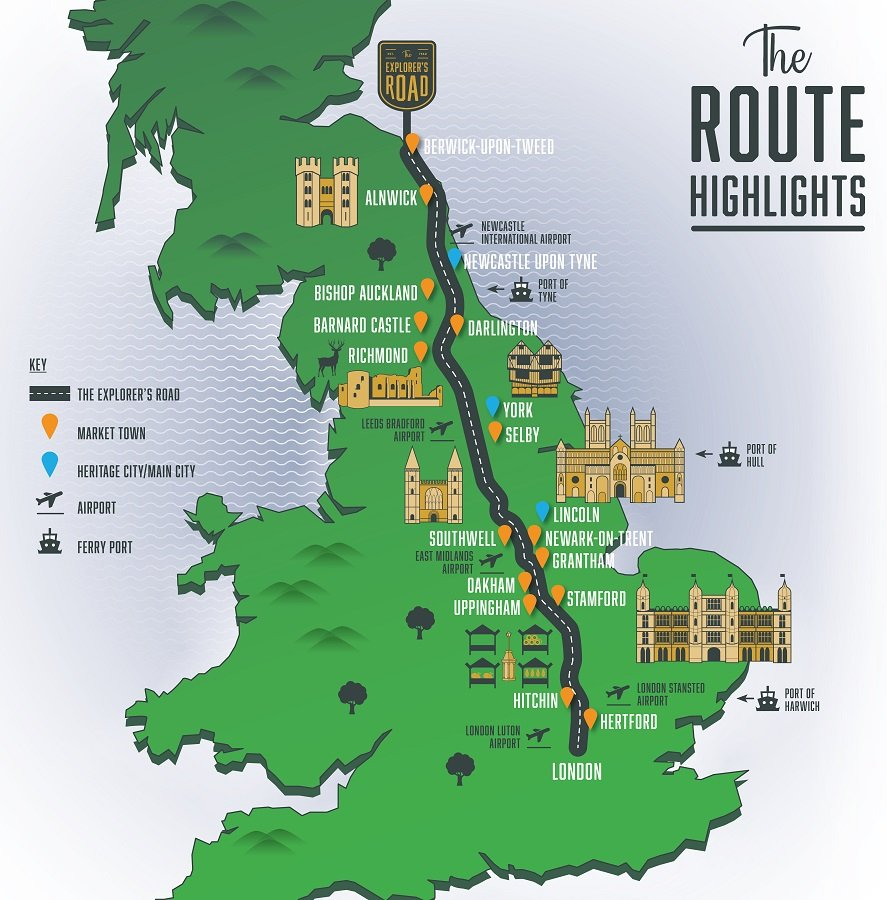 The Explorer's Road, Great Britain