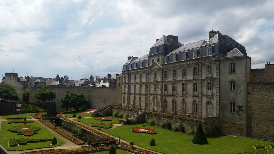 Castle in Vannes, Brittany