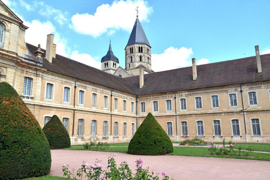 Abtei von Cluny in Frankreich