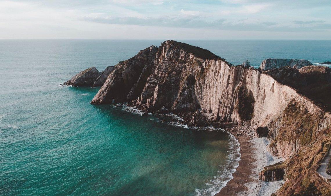 """The """"Playa de Silencio"""" bay in northern Spain"""