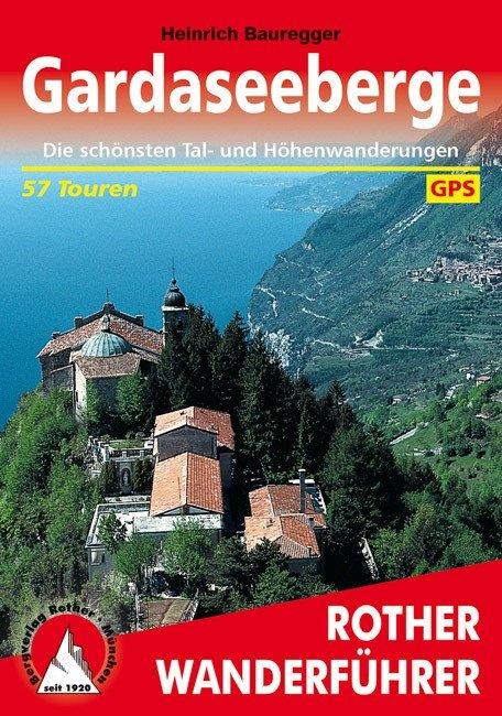 Buchcover Rother Wanderführer Gardaseeberge