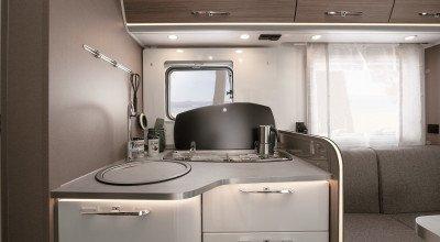 Küchenbereich Reisemobil Etrusco 2022