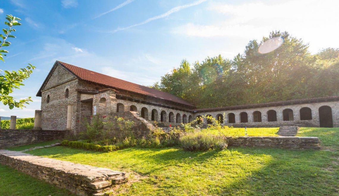 Römische Villa Urbana in Longuich von außen