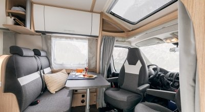 Go to the semi-integrated motorhomes by Sunlight