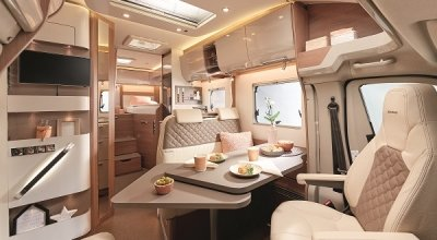 go to the semi-integrated motorhomes by Bürstner